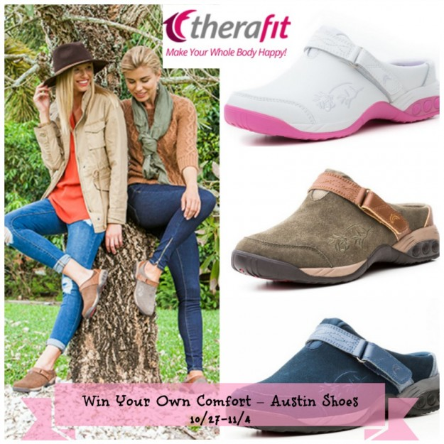 TheraFit-Austin-Shoes-Giveaway