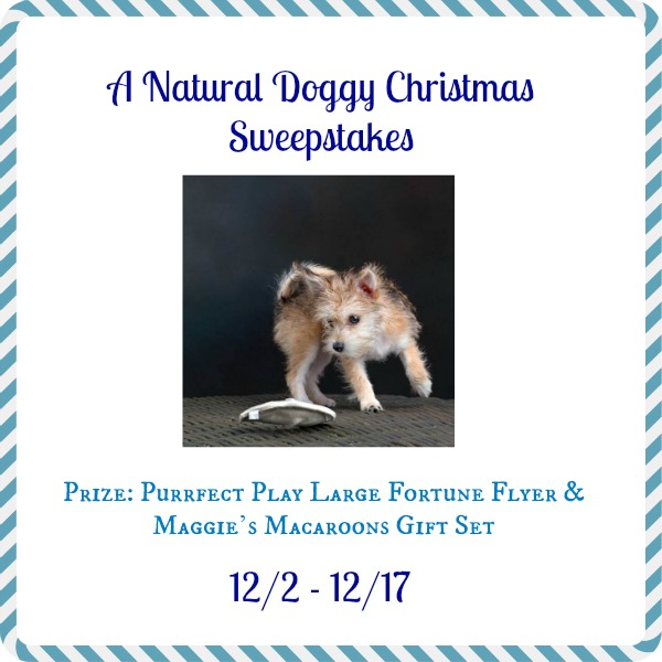 A Natural DOggy Christmas Sweepstakes