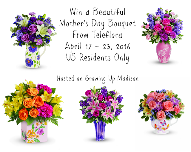 Teleflora Mothers Day Giveaway
