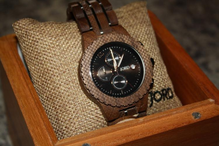 wood watch